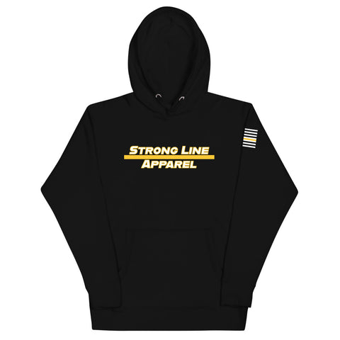 Strong Line Apparel (Gold Line) Unisex Hoodie