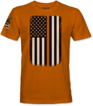 Orange Line Flag T-Shirt