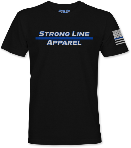 Strong Line Apparel (Blue Line) T-Shirt