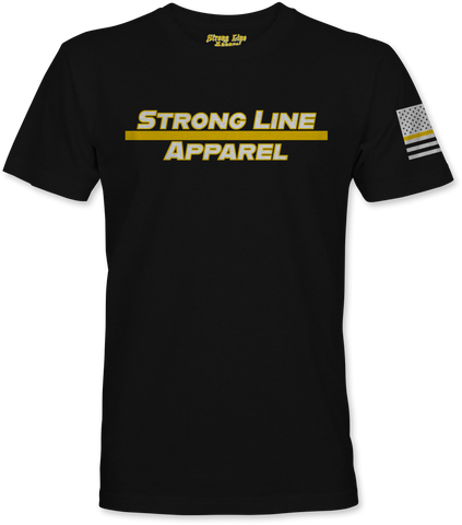 Strong Line Apparel (Gold Line) T-Shirt