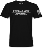 Strong Line Apparel (Silver Line) T-Shirt