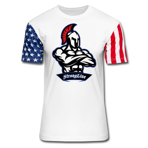 Strong Line Stars & Stripes T-Shirt - white