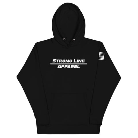 Strong Line Apparel (Silver Line) Unisex Hoodie