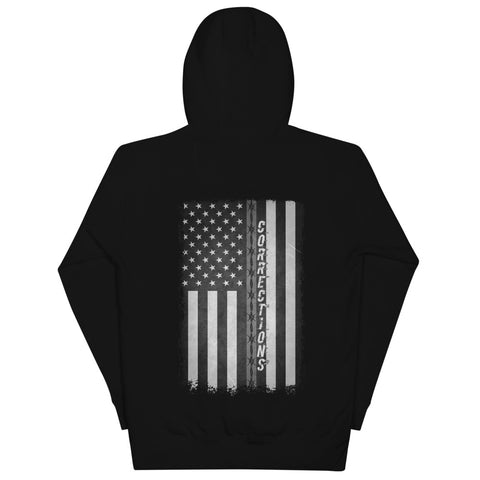 Correction Officer's Flag Unisex Hoodie