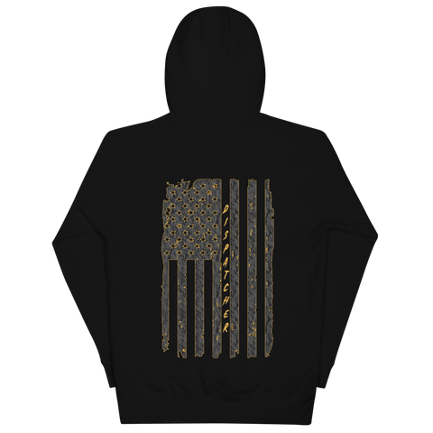 Dispatcher Flag Unisex Hoodie