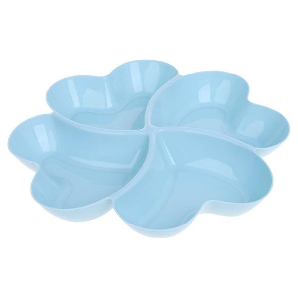 Heart Shaped Fruit Platter Serving Tray Creative Plates Storage Box Container For Snacks Nuts Desserts