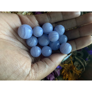 Blue Lace Agate Mini Spheres
