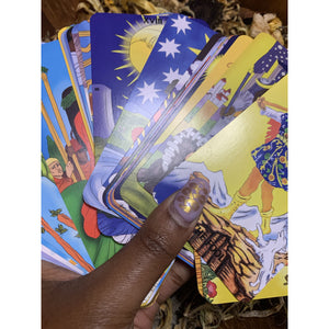 Melanated Classic Tarot w/ Online Access