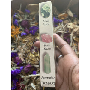 Ritual Gemstone Matchboxes