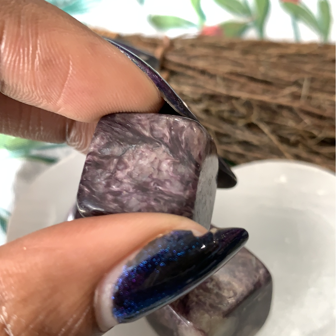 Charoite Cubes