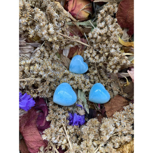 Larimar High Quality Mini Hearts