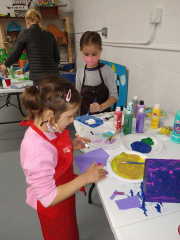 anetaartclasses offer free art events for kids