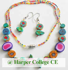 Fashion Accessories class for kids age 8-14 at Harper College CE