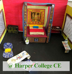 Prana Imperial Palace, Architectural class for kids 8-14 at Harper College CE