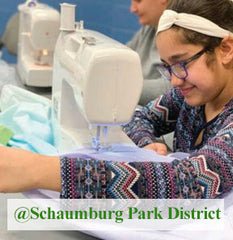 Sewing class for kids age 8-12 at Schaumburg Park District