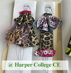 Fashion Design Class for kids age 8-14 at Harper College CE
