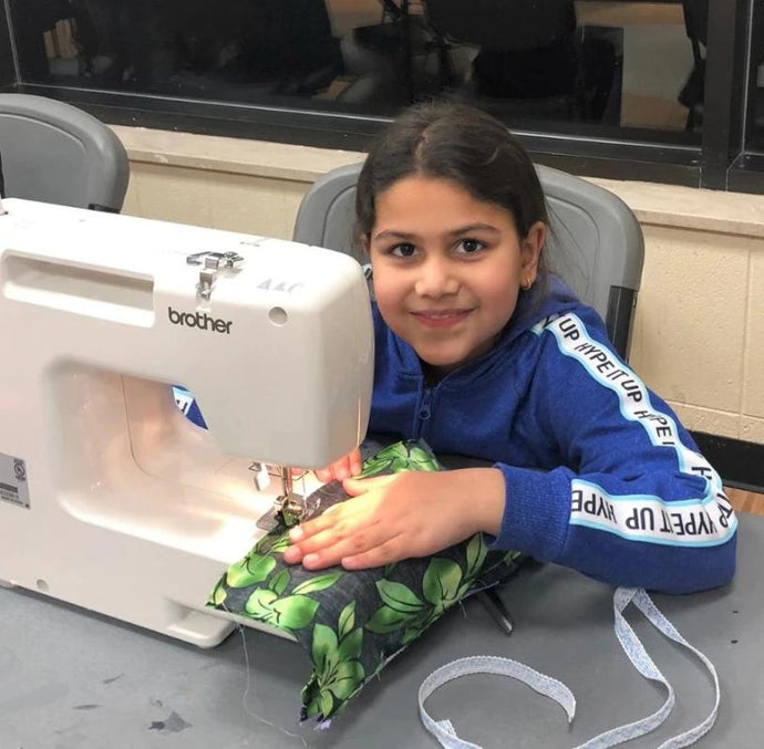 AnetaArtClasses Sewing class at Little Bulgarian Center for kids age 8-14