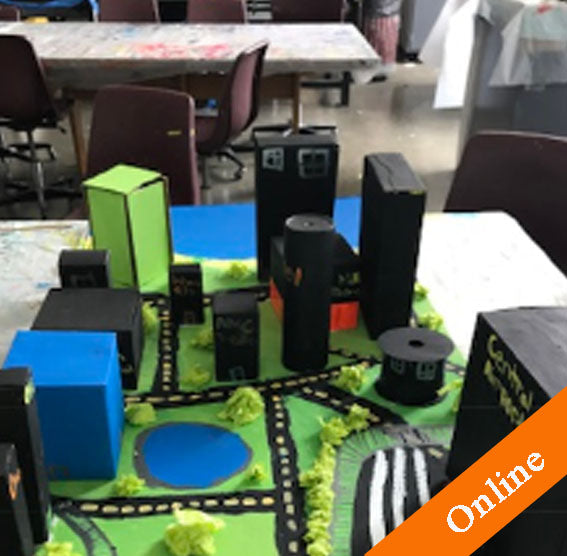 The City of the Future, Summer Camp for kids age 8-12 at Harper College-online