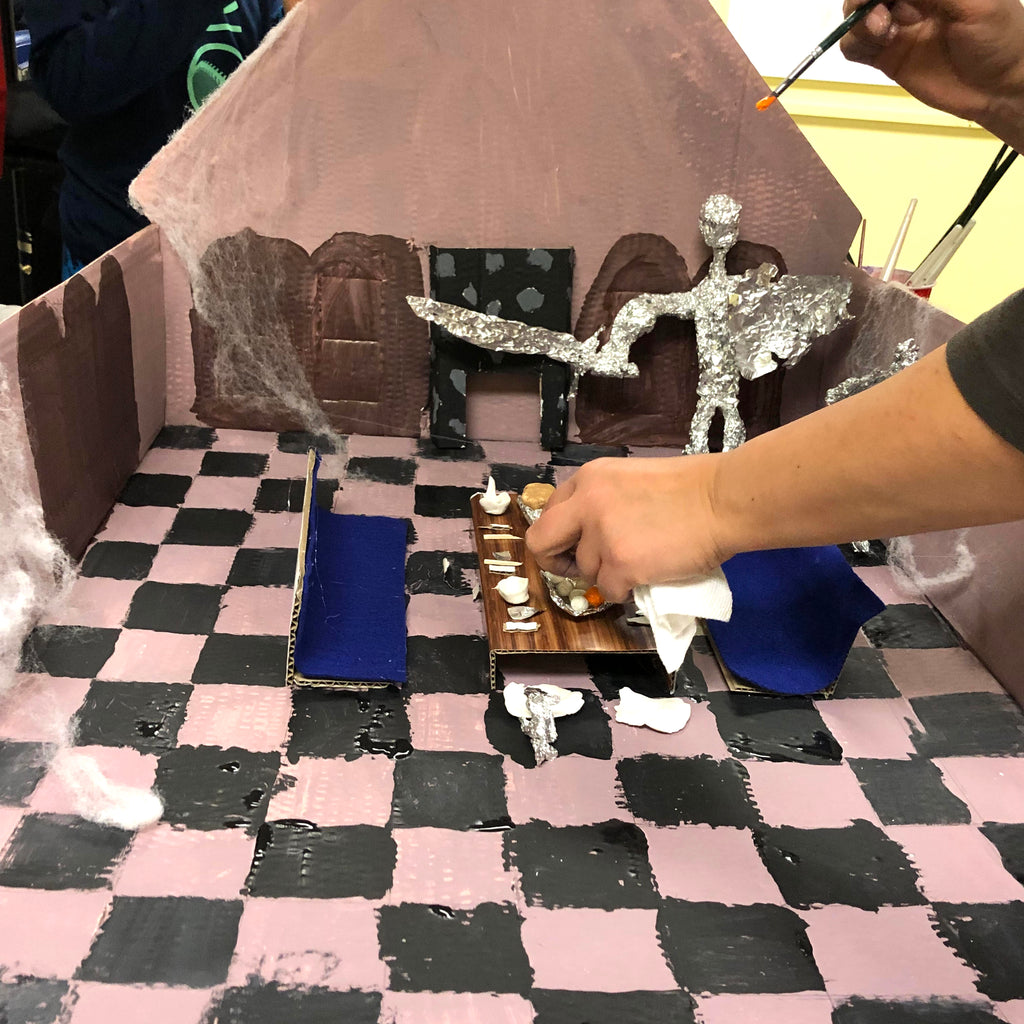 Enchanted Castle Interior Design Class Fall after school online program for kids age 8-12