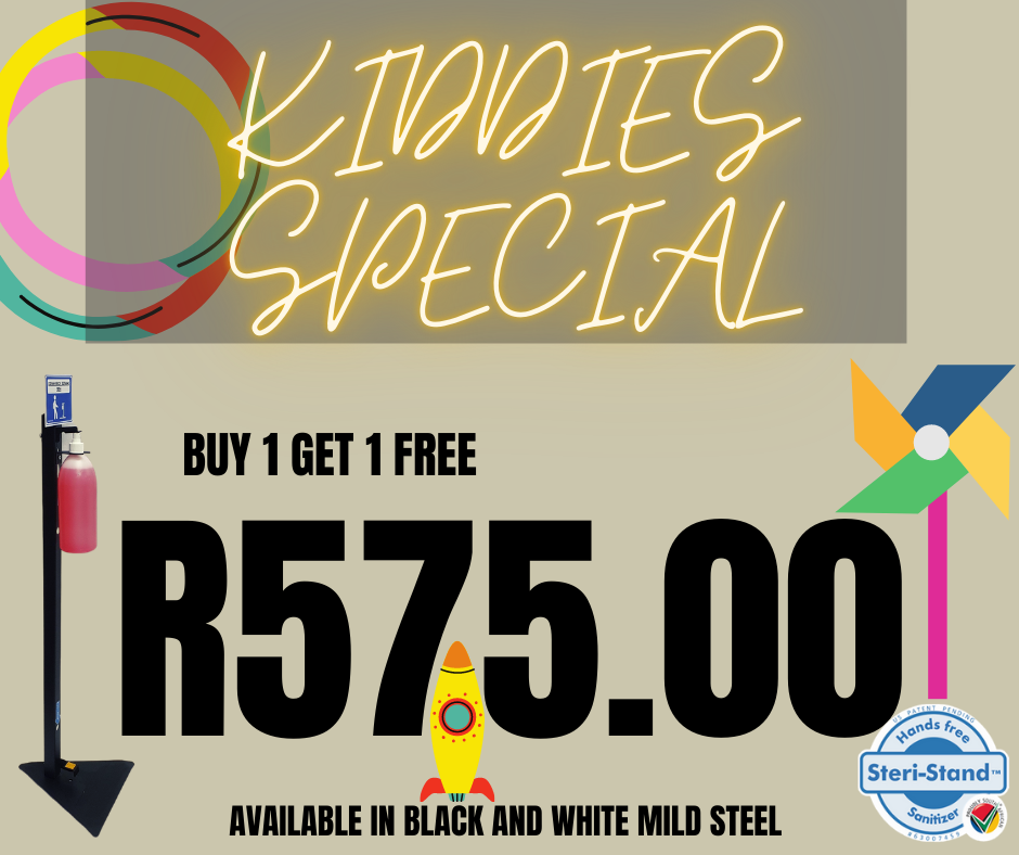 KIDDIES MILD STEEL STANDS - SPECIAL - Buy one get one free!