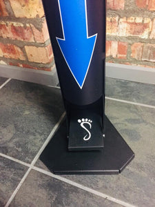 Deluxe Branded Freestanding Stand
