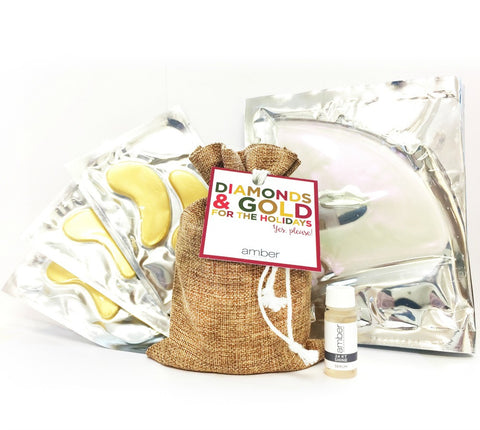 Diamonds and Gold Holiday Gift Set