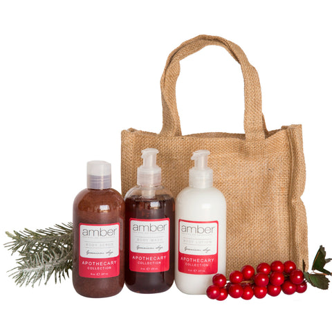 Geranium Sage Everyday Body Gift Set