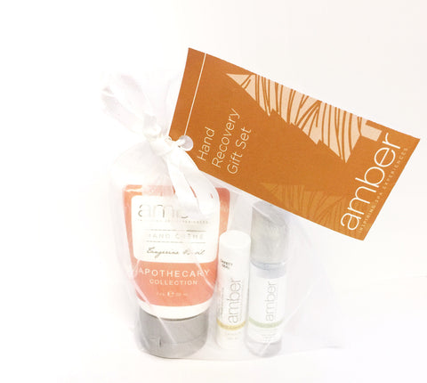 Tangerine Basil Hand Recovery Gift Set