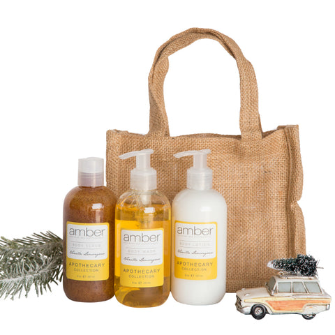 Vanilla Lemongrass Everyday Body Gift Set