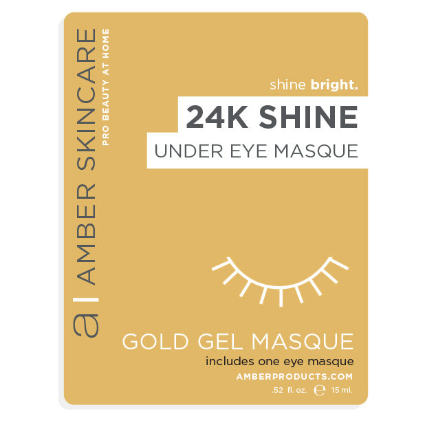 24KT Shine Eye Masque - 1 pack