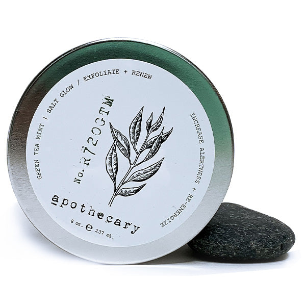Amber Apothecary Salt Glow - Green Tea Mint