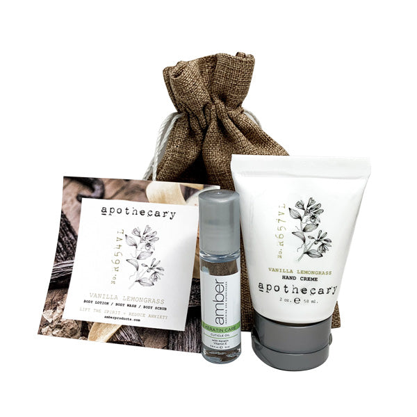 HAND RECOVERY GIFT SET - 5 SCENTS