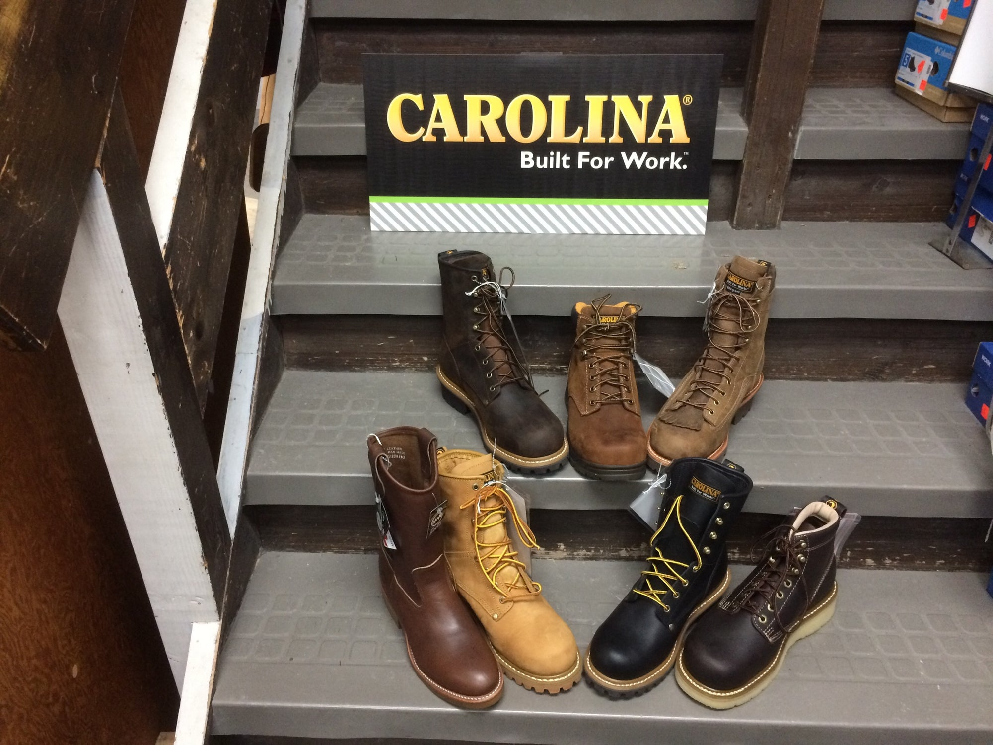 Carolina Shoes.  Built For Work