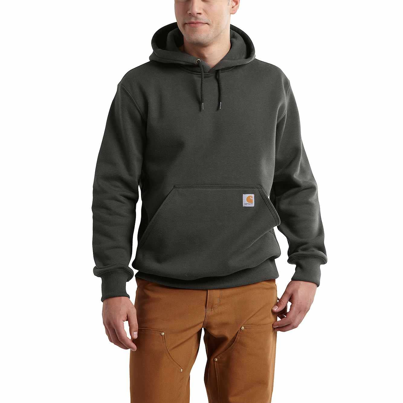 Carhartt Rain Defender Paxton Hooded Heavyweight Sweatshirt - PEET COLOR