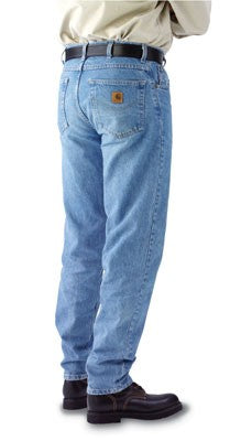 Carhartt Men's Denim Relaxed Fit Jeans - Stonewash
