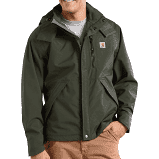 Carhartt Shoreline Waterproof Breathable Jacket - OLIVE COLOR