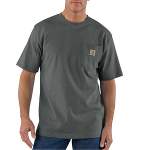 Carhartt Men's Workwear T-Shirts - Big & Talls - Carbon Heather