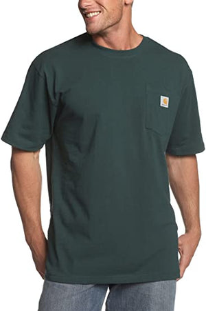 Carhartt Men's Workwear T-Shirts - Big & Talls - Hunter Green
