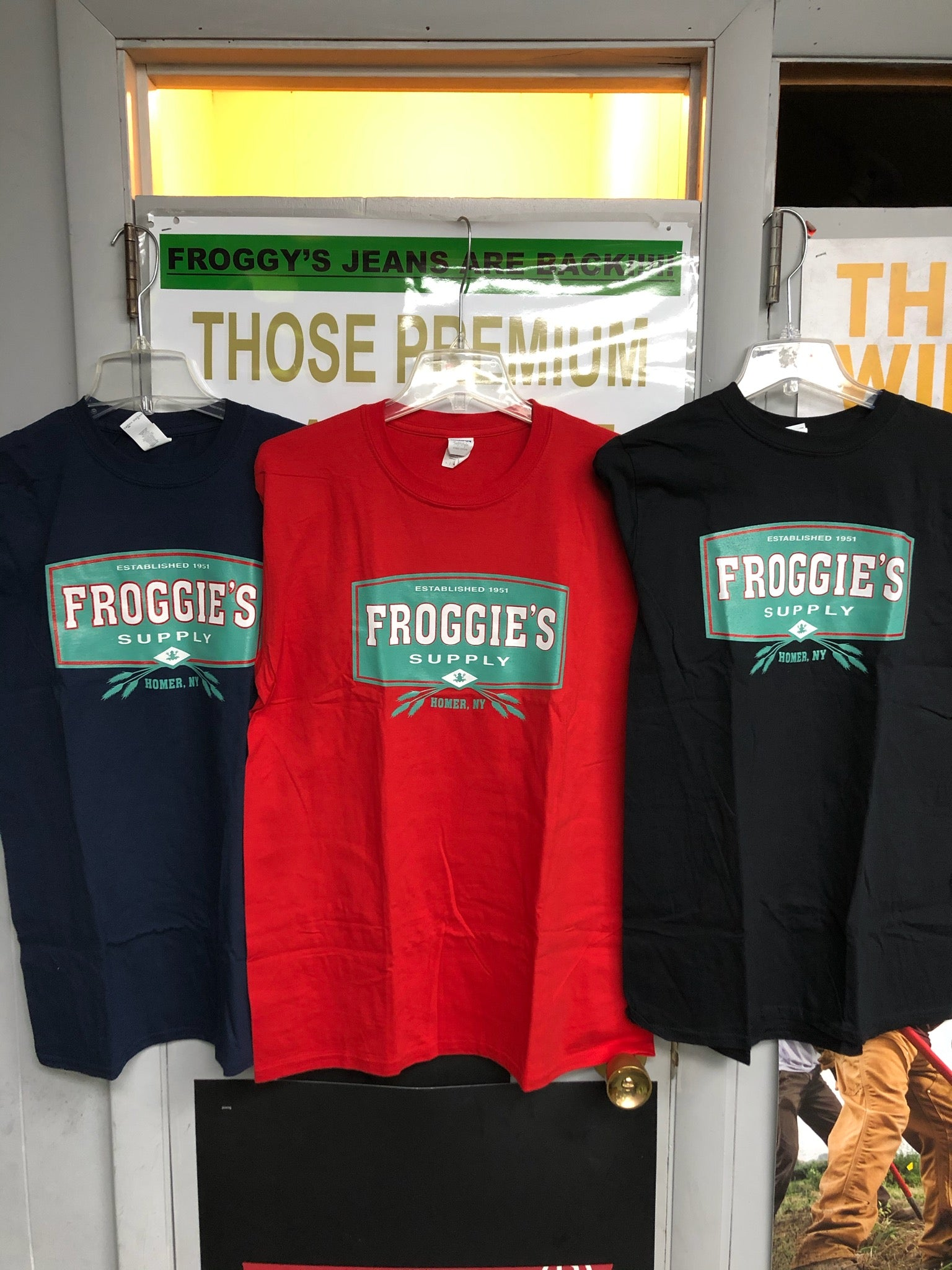 Froggie Supply T-Shirts