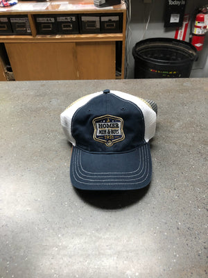 Trucker Hat - Homer Men and Boys 1951 - Navy/White