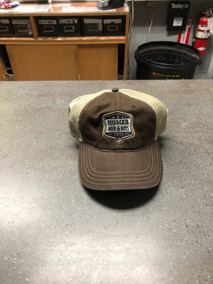 Trucker Hat - Homer Men and Boys 1951 - Brown/Tan
