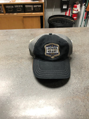 Trucker Hat - Homer Men and Boys 1951 - Black/Grey
