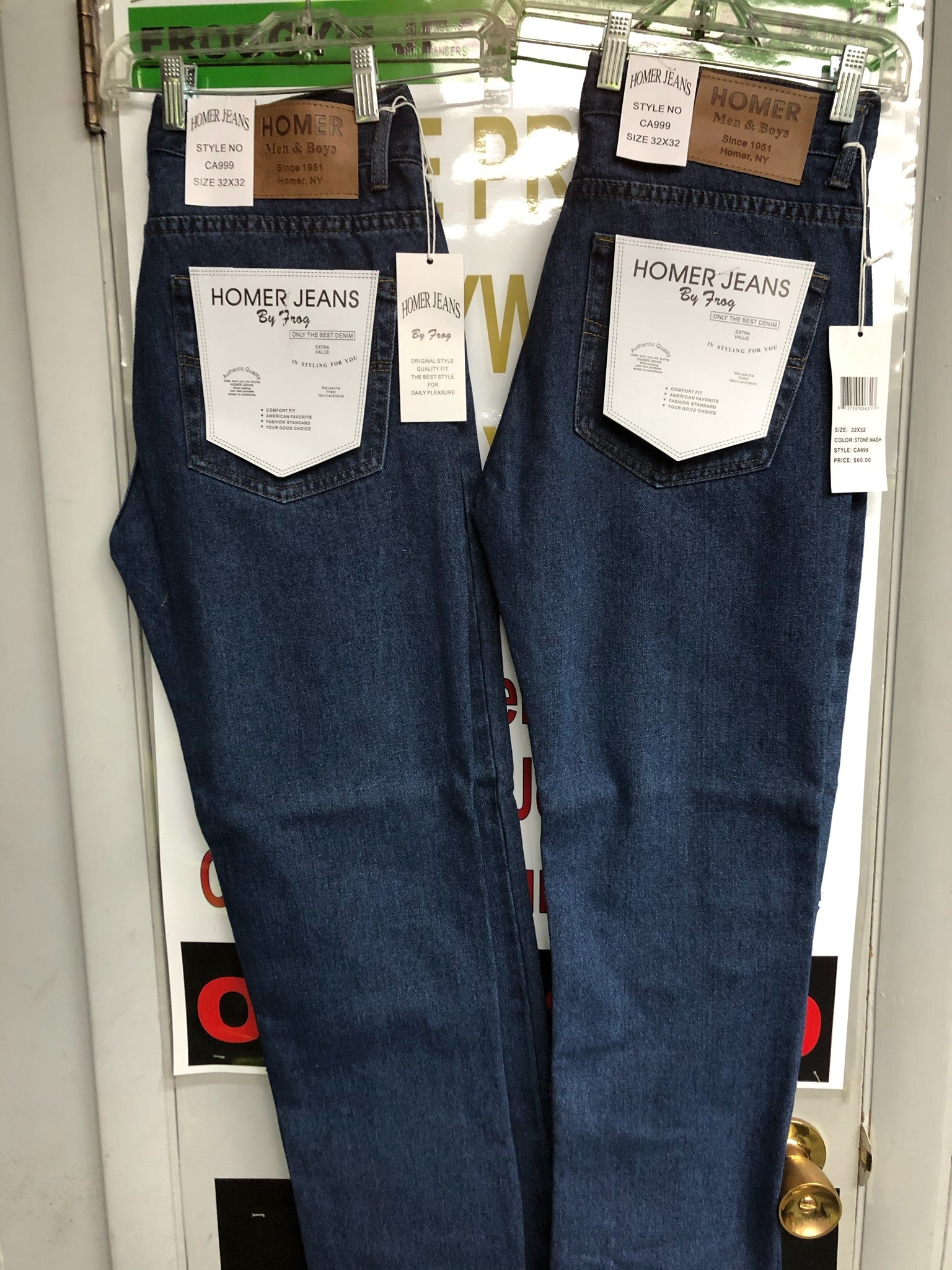 Homer Jeans from Homer Men and Boys