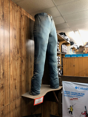 World's largest pair of jeans at Homer Men and Boys Store