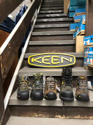 Keen footwear for men - steel toe