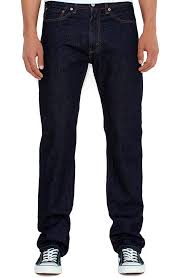 Levi's 505 Men's Regular Fit jeans - Rinsed