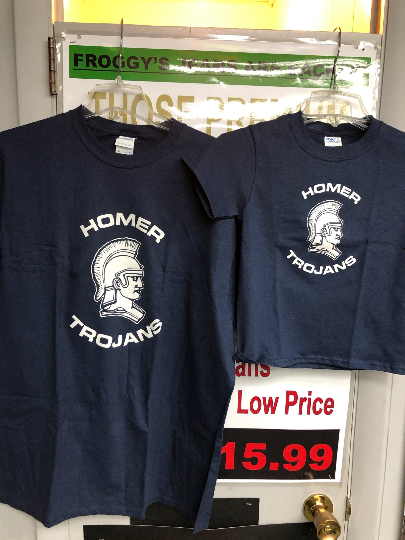 Homer Trojan T-Shirts for Youth and Adults