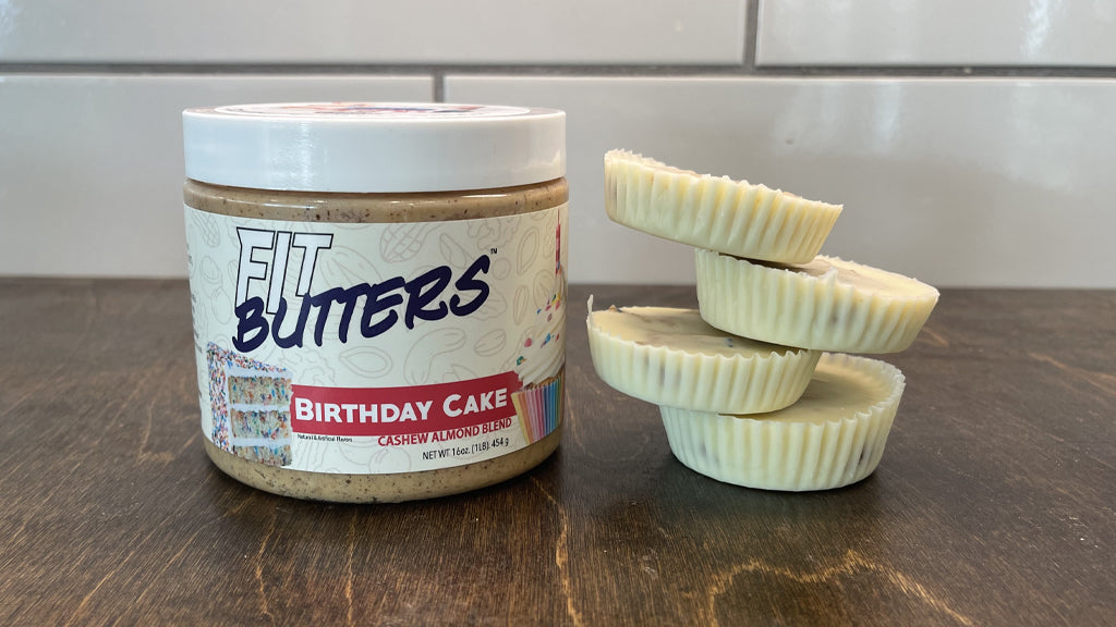 FIt Butters Birthday Cake Cups