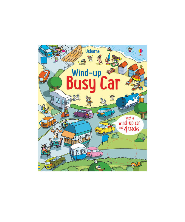 WIND UP BUSY CAR