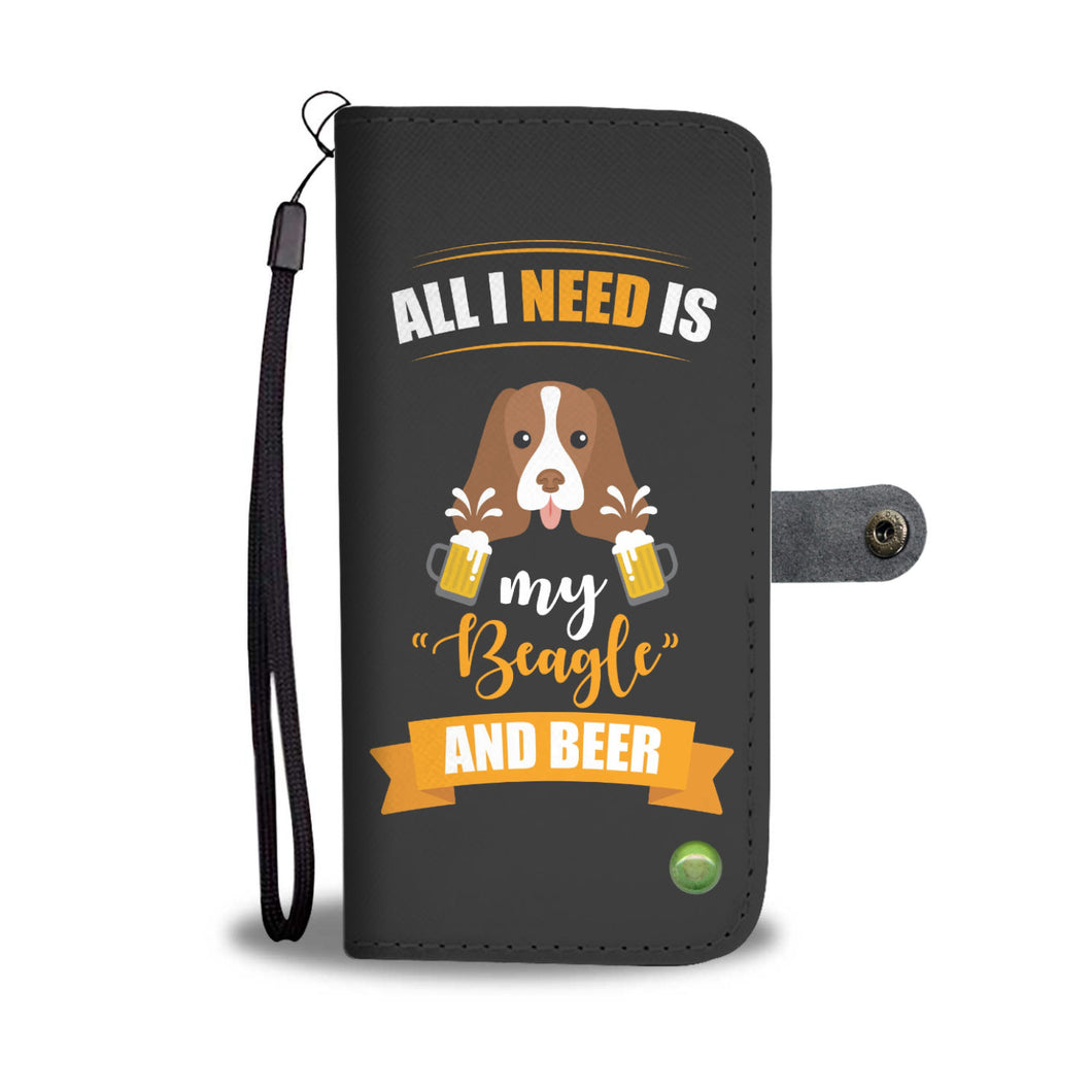 All I need is my Beagle and Beer NTD